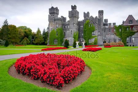 Замок эшфорд и сады