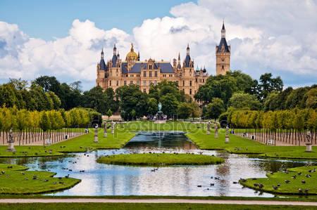 Шверинский замок германия