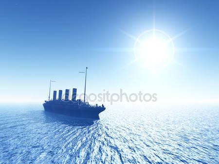 Титанический корабль