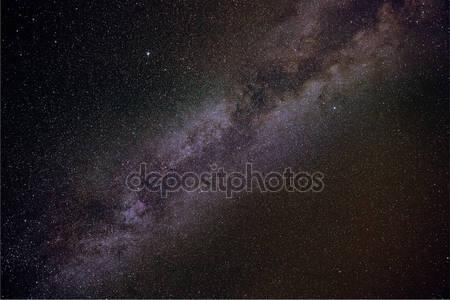 Звезды млечного пути в летнюю ночь