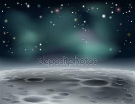 Лунный фон