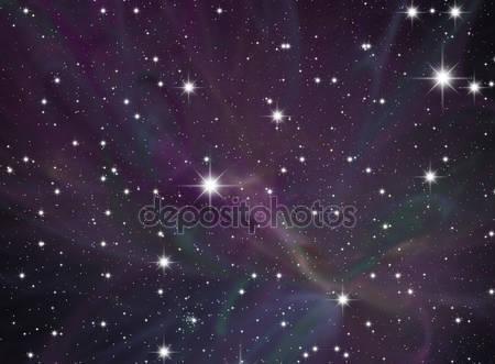 Фотообои Ночное небо и звезды