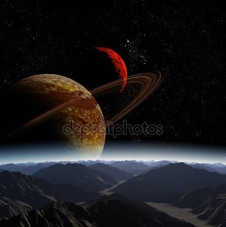 Фотообои Абстрактный фон глубокого космоса