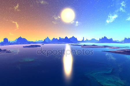 Фотообои 3d planet