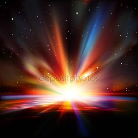 Фотообои Абстрактный космический фон со звездами