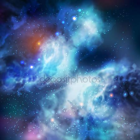 Фотообои Бабочка в галактике