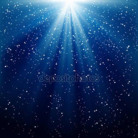 Фотообои Снег и звезды