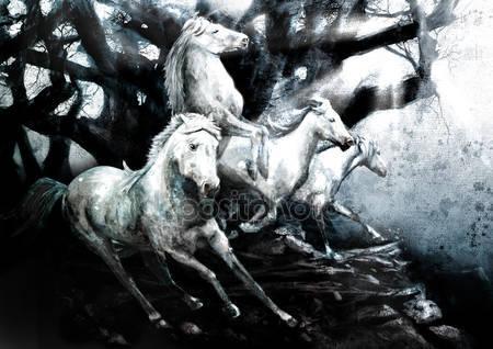 Запуск лошадей