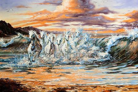 Скакуны от волн