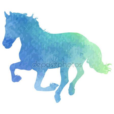 Фотообои Силуэт лошади
