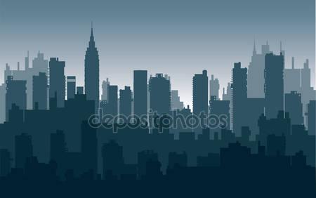 Фотообои Ночные город