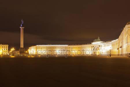 Фотообои Ночной санкт-петербург