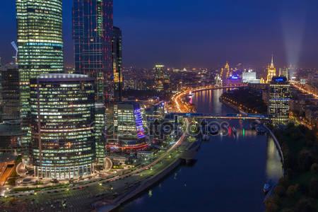 Фотообои Ночная москва