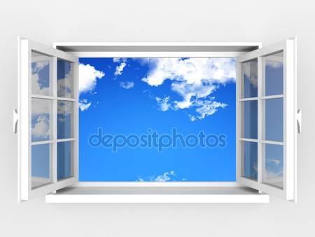 Фотообои Открытое окно