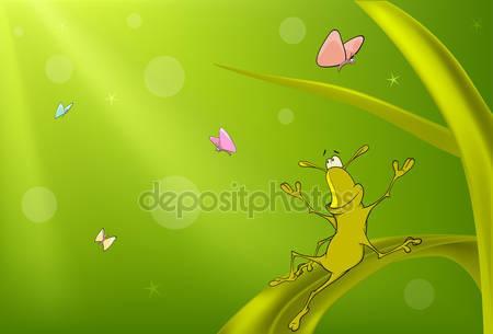 Зеленый мультфильм