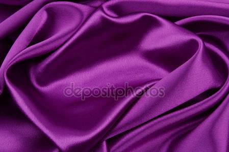 Фиолетовые шелковые ткани