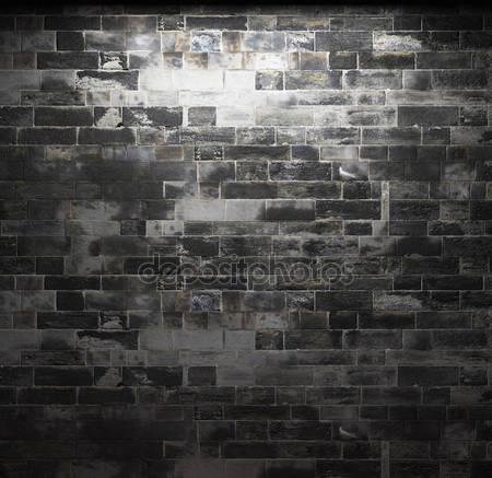 Фотообои Освещенная каменная стена