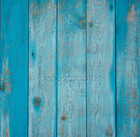 Синий деревянный фон