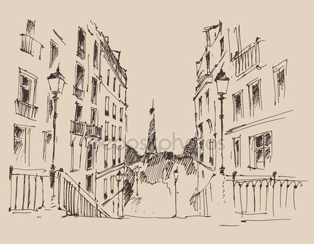 Улицы в париже