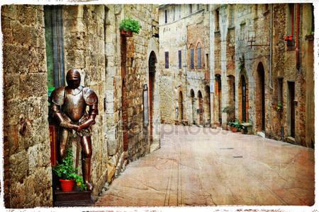 Средневековый тоскана