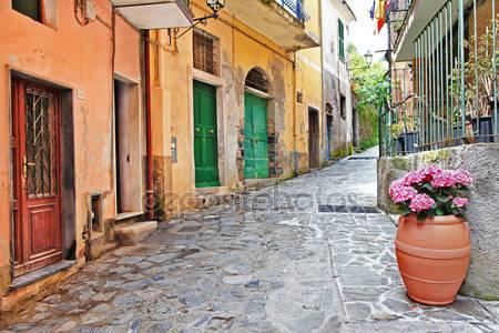 Живописные улицы италии