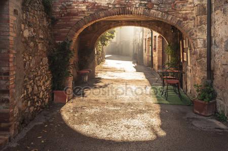 Неизвестные улицы старого средневекового города