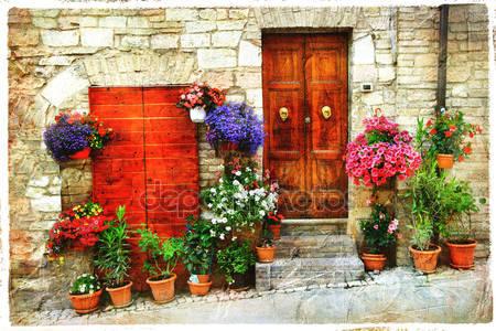 Красивые цветочные улицы