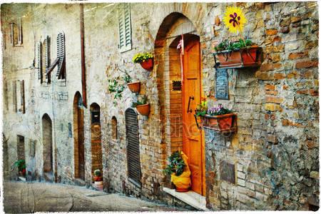 Фотообои Очаровательные старые улицы