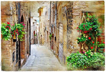 Улочка в италии