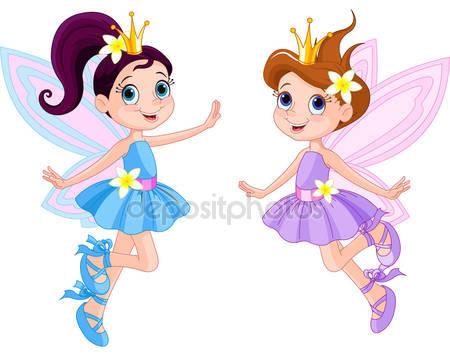Две милые феи