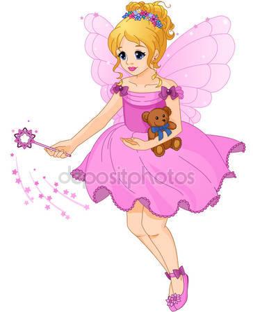 Милая девочка в фиолетовое платье