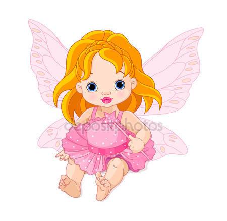 Милый ребенок фея
