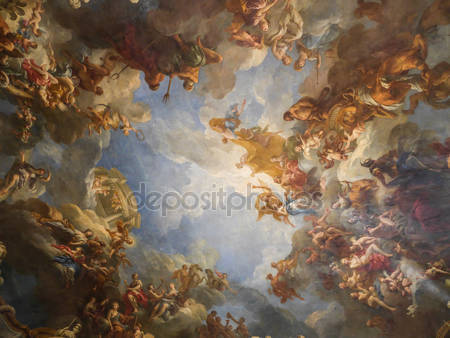 Версальская фреска